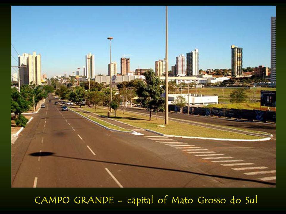 CAMPO GRANDE - capital of Mato Grosso do Sul