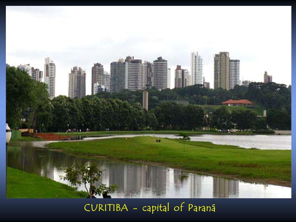 CURITIBA - capital of Paraná