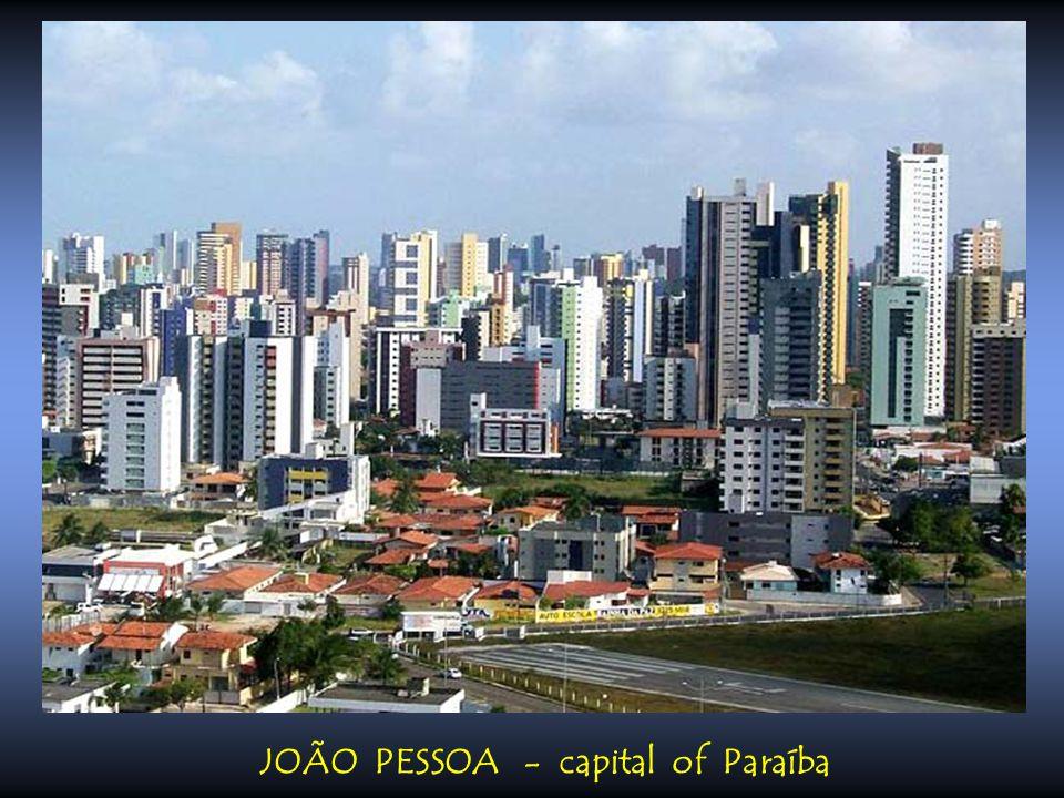 JOÃO PESSOA - capital of Paraíba