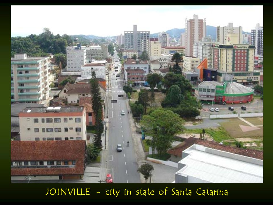 JOINVILLE - city in state of Santa Catarina