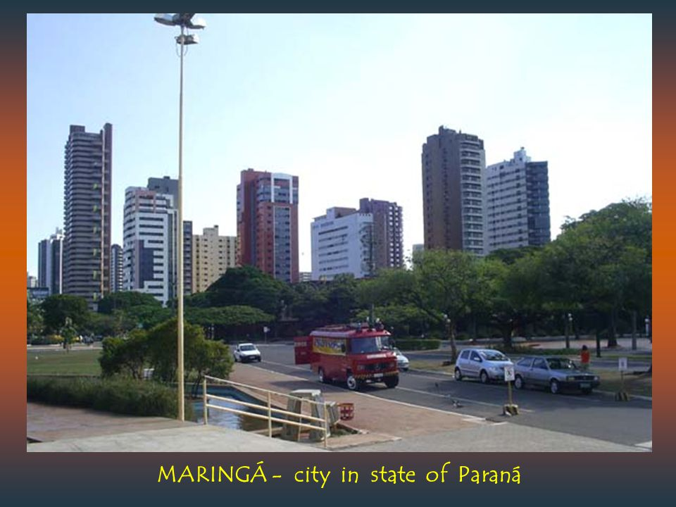 MARINGÁ - city in state of Paraná