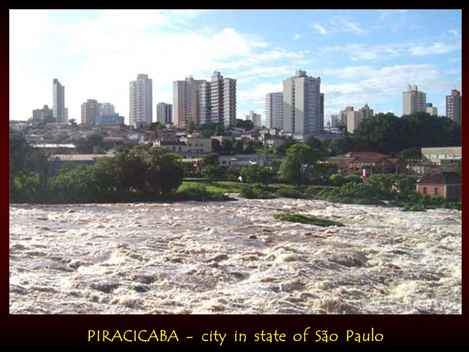 PIRACICABA - city in state of São Paulo