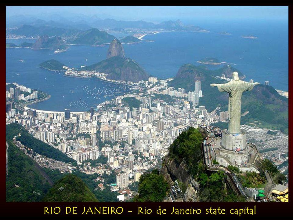 RIO DE JANEIRO - Rio de Janeiro state capital