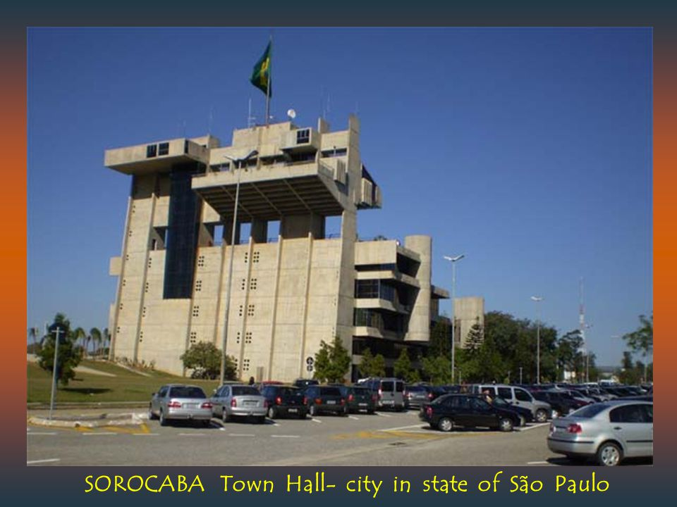 SOROCABA Town Hall- city in state of São Paulo