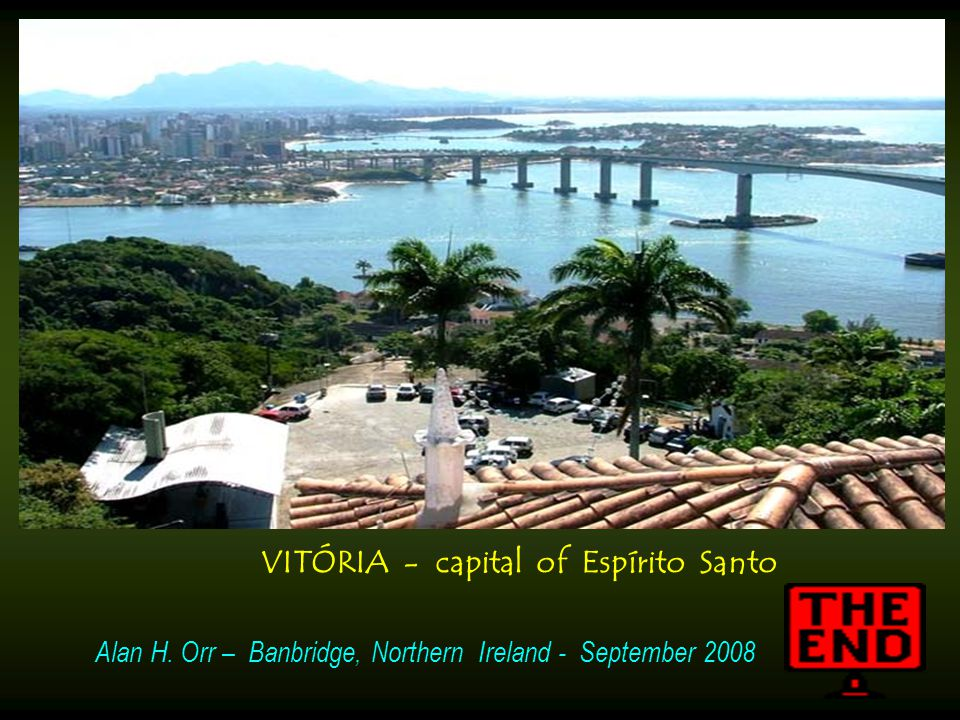 VITÓRIA - capital of Espírito Santo
