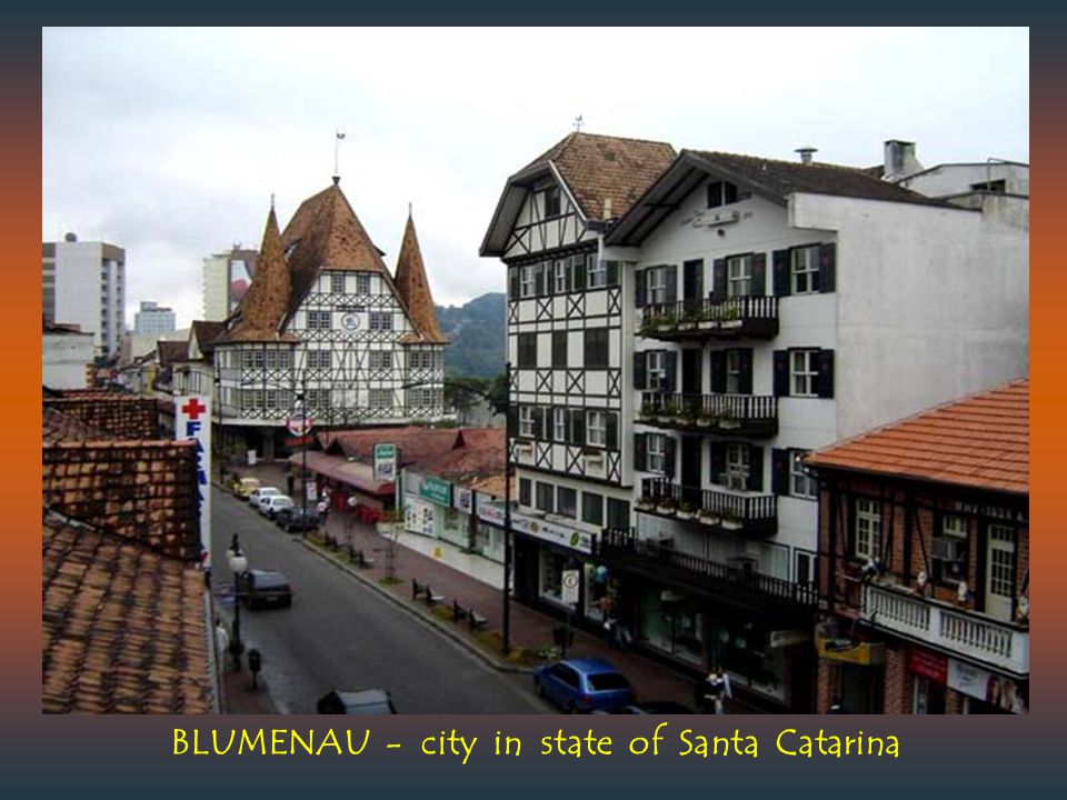 BLUMENAU - city in state of Santa Catarina