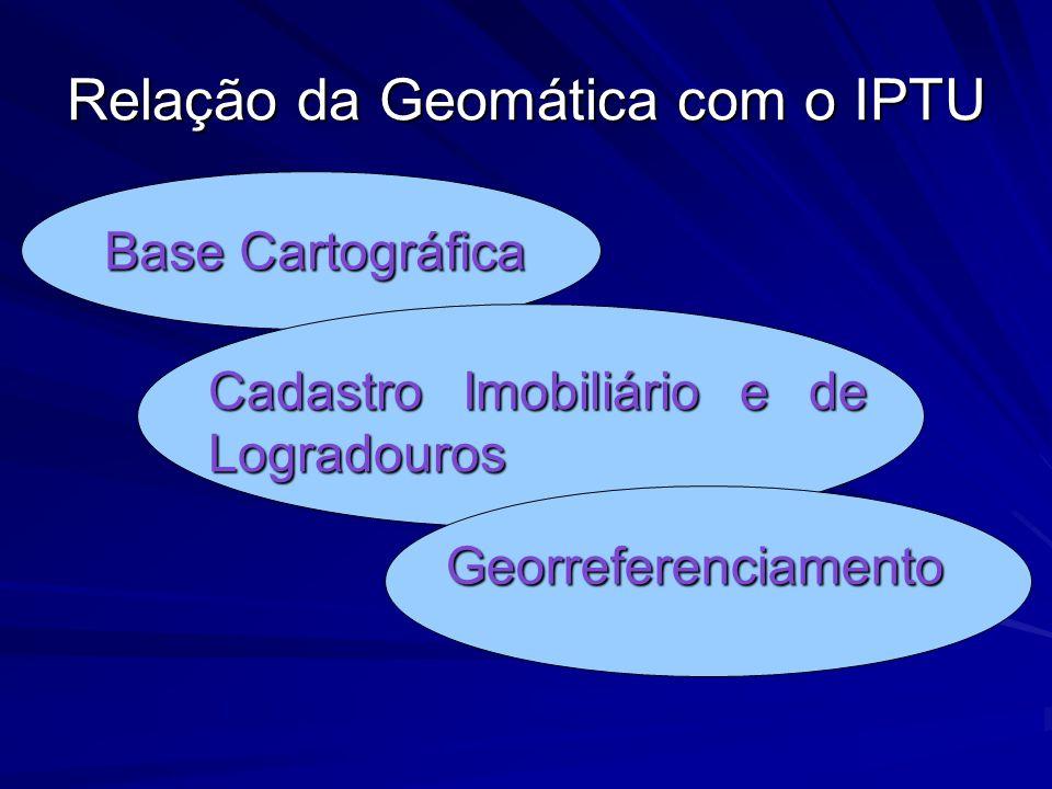 Relação da Geomática com o IPTU