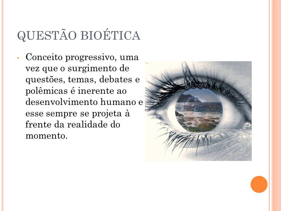QUESTÃO BIOÉTICA