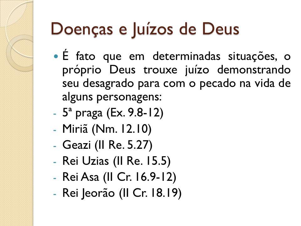 Doenças e Juízos de Deus