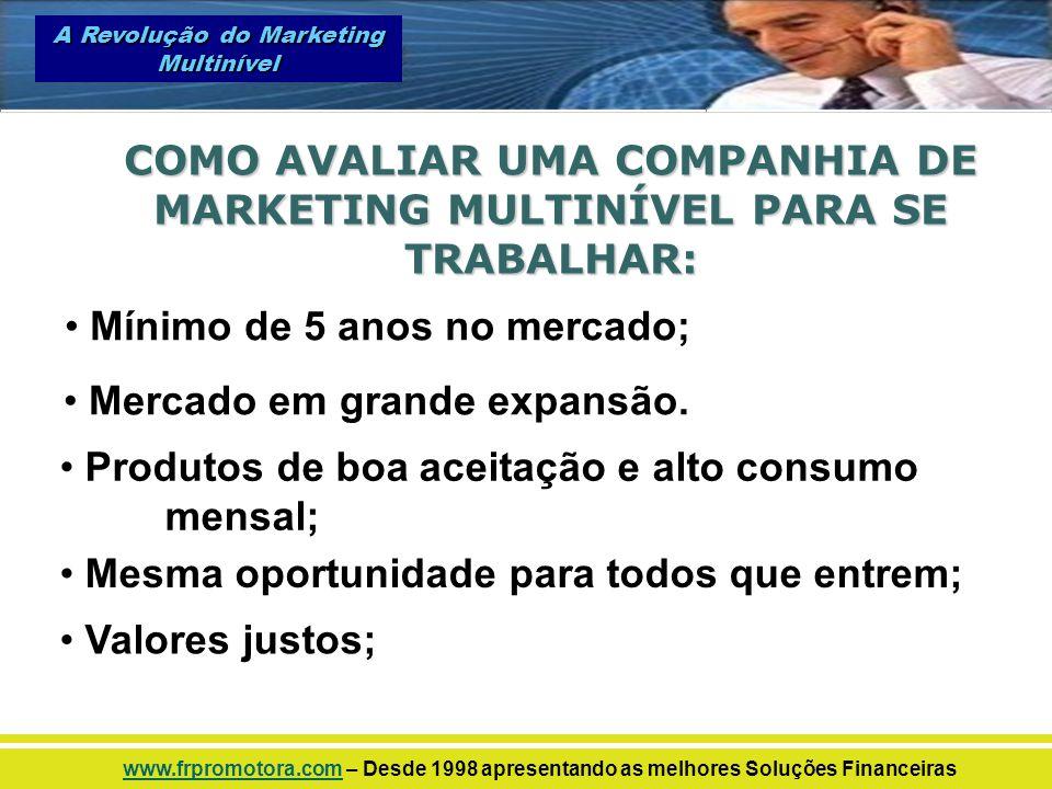 COMO AVALIAR UMA COMPANHIA DE MARKETING MULTINÍVEL PARA SE TRABALHAR: