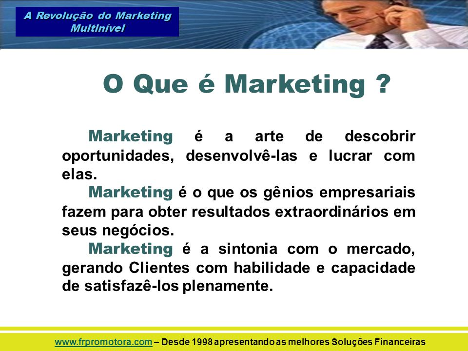 A Revolução do Marketing