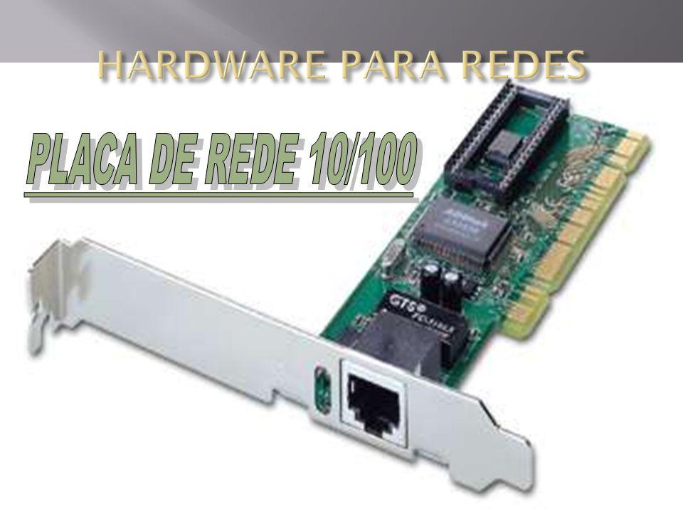 HARDWARE PARA REDES PLACA DE REDE 10/100