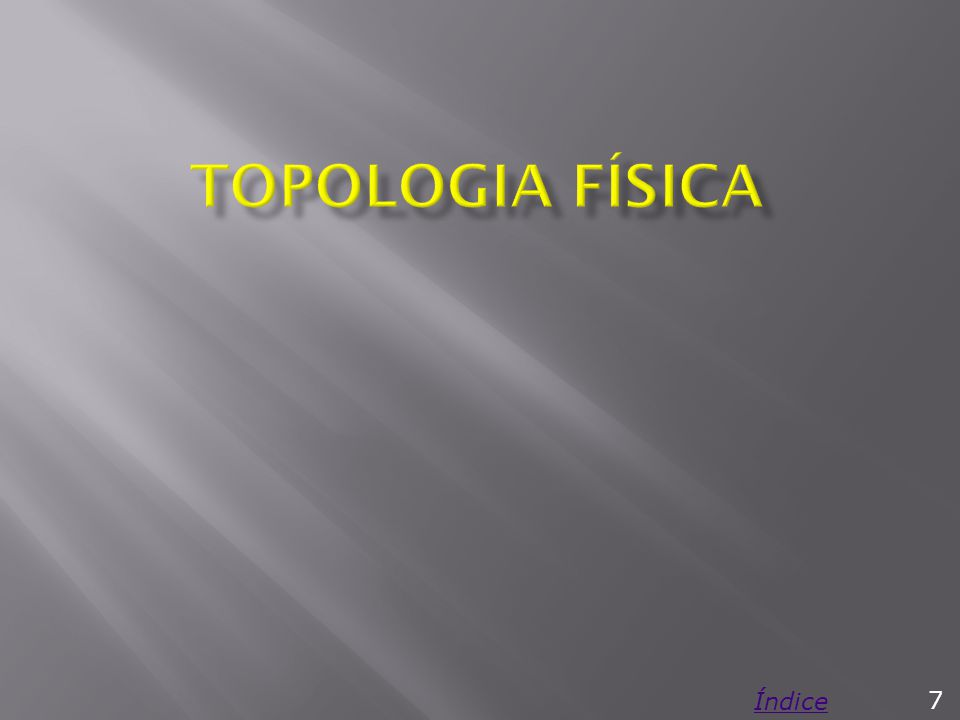 Topologia Física Índice 7