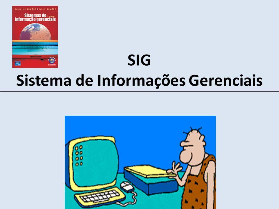 SIG Sistema de Informações Gerenciais