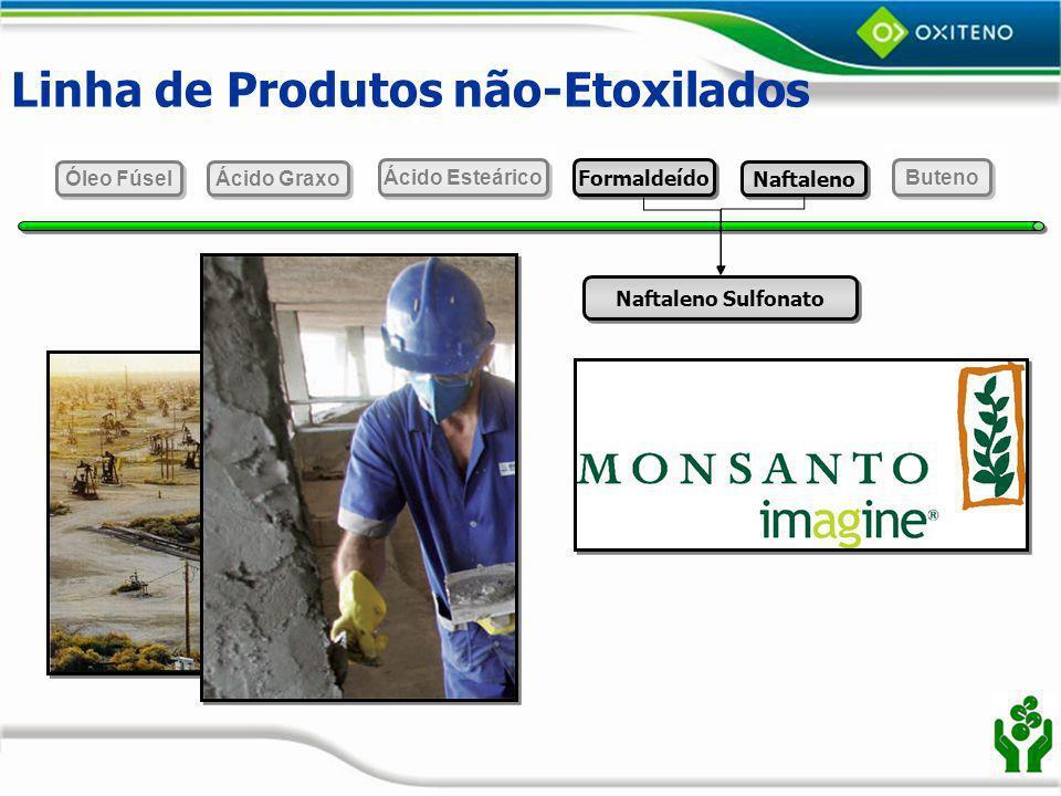 Linha de Produtos não-Etoxilados