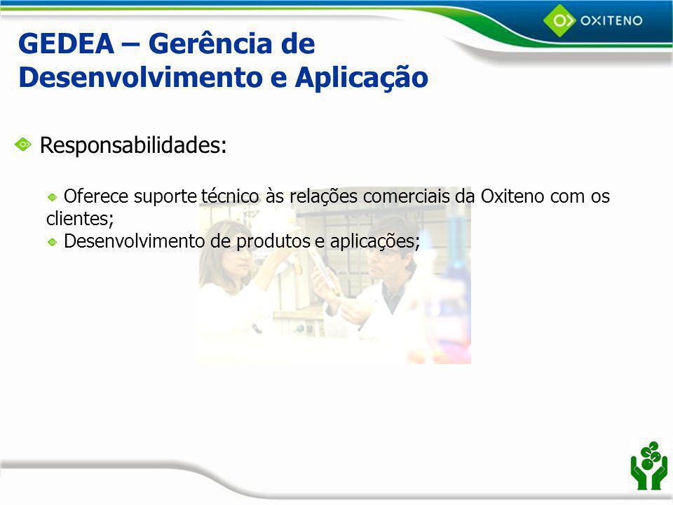 GEDEA – Gerência de Desenvolvimento e Aplicação