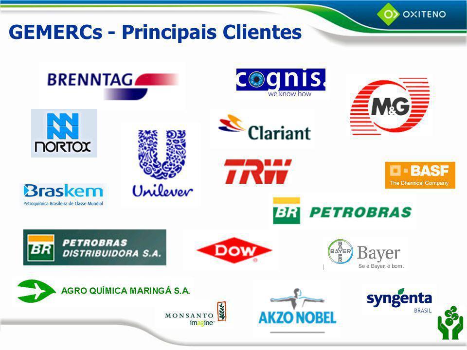 GEMERCs - Principais Clientes