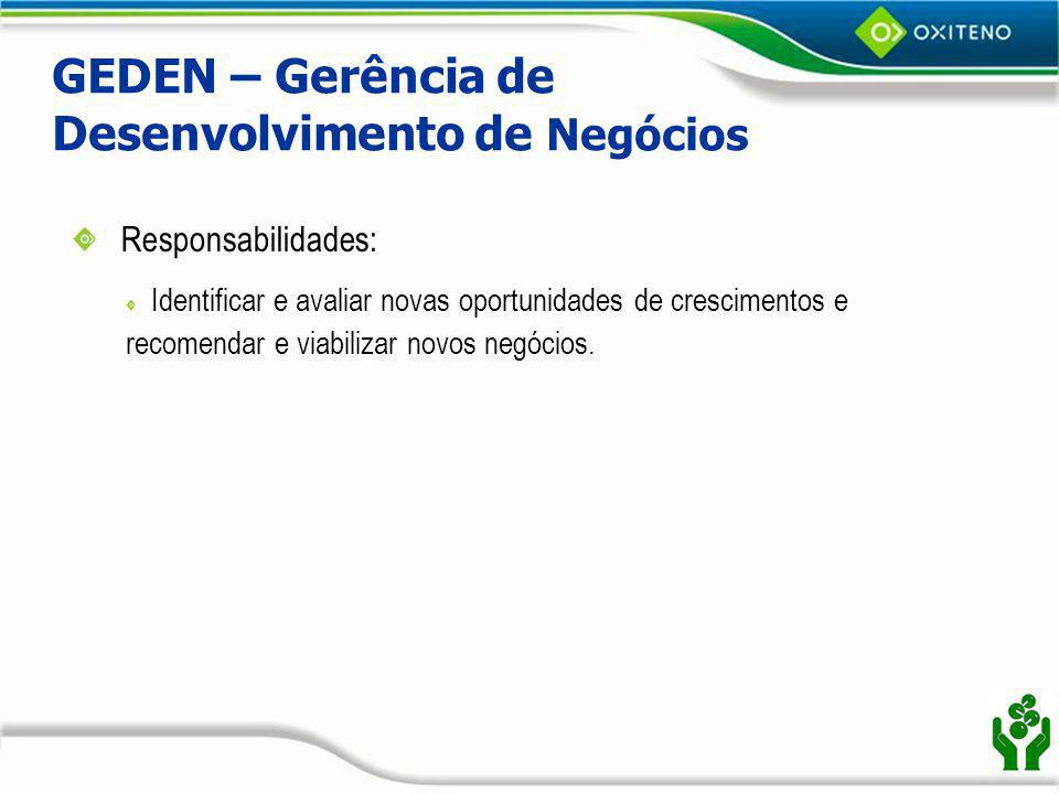 GEDEN – Gerência de Desenvolvimento de Negócios