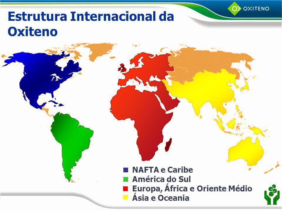 Estrutura Internacional da Oxiteno
