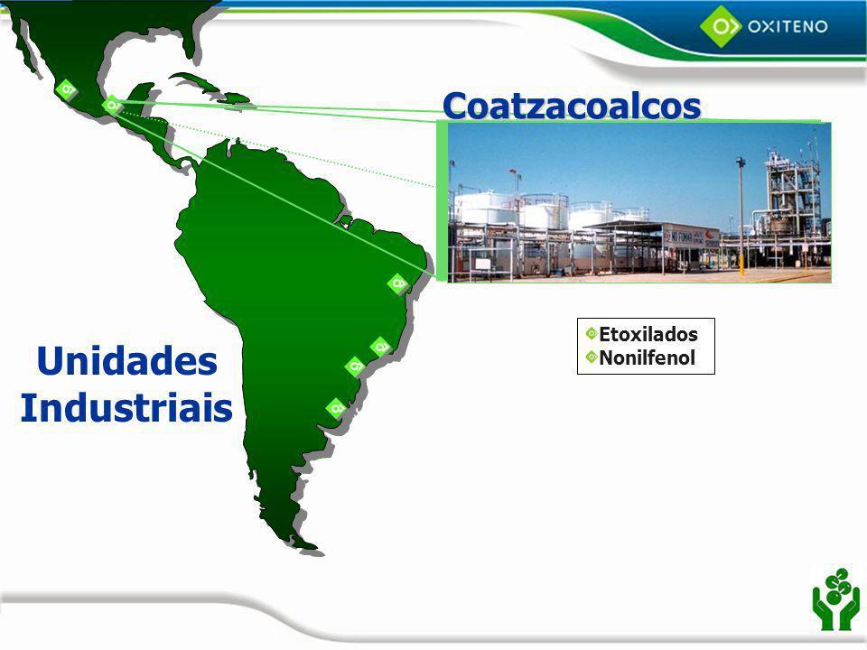 Coatzacoalcos Etoxilados Nonilfenol Unidades Industriais