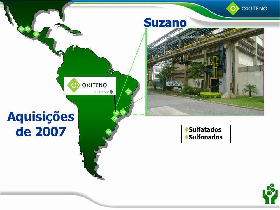Suzano Aquisições de 2007 Sulfatados Sulfonados