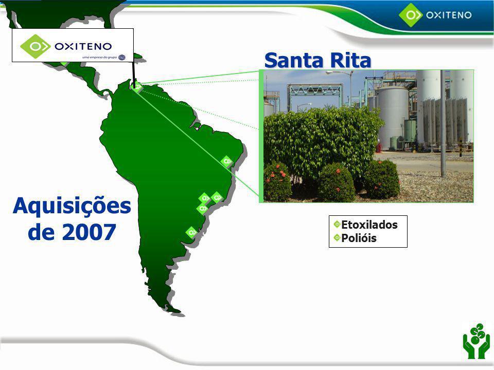 Santa Rita Aquisições de 2007 Etoxilados Polióis