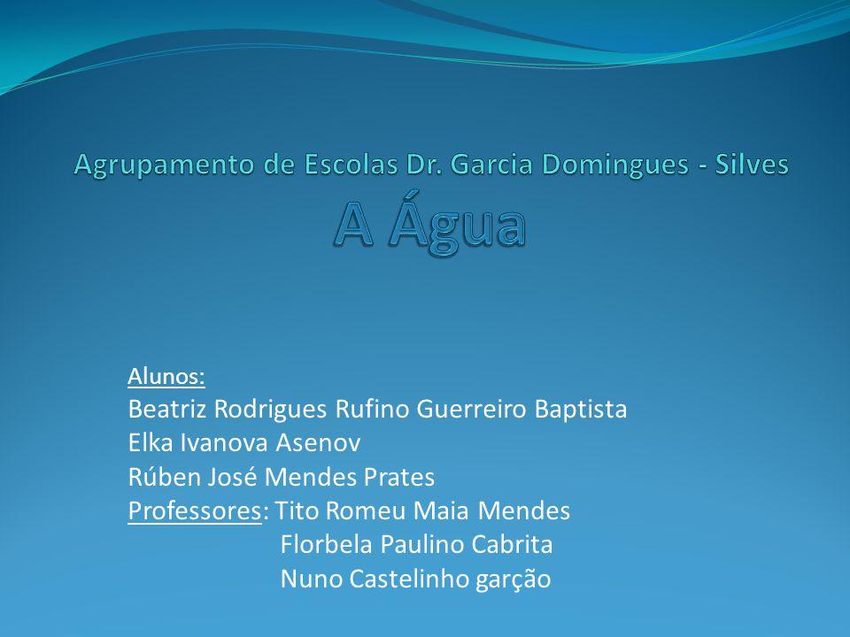 Agrupamento de Escolas Dr. Garcia Domingues - Silves A Água