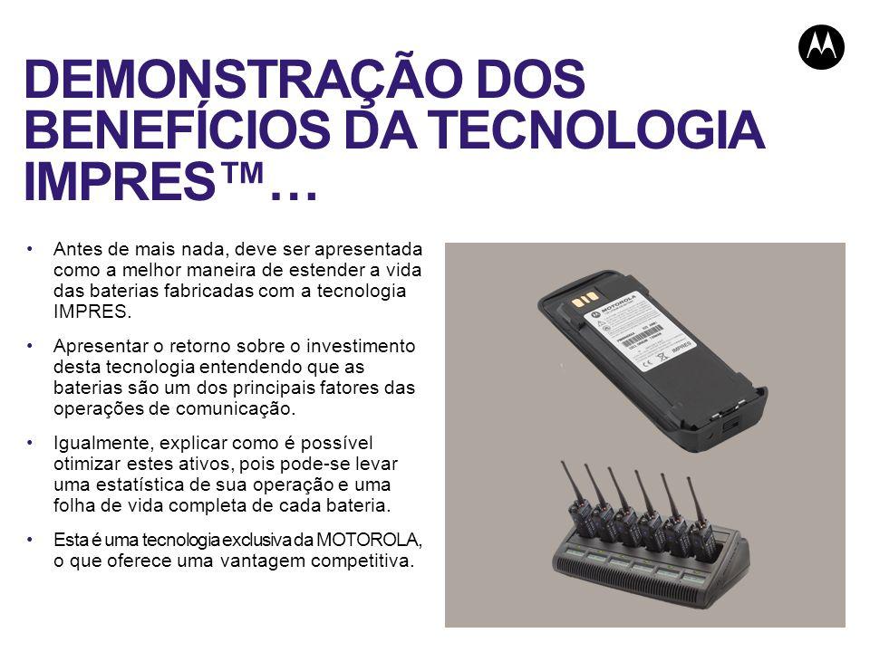 DEMONSTRAÇÃO DOS BENEFÍCIOS DA TECNOLOGIA IMPRES™…