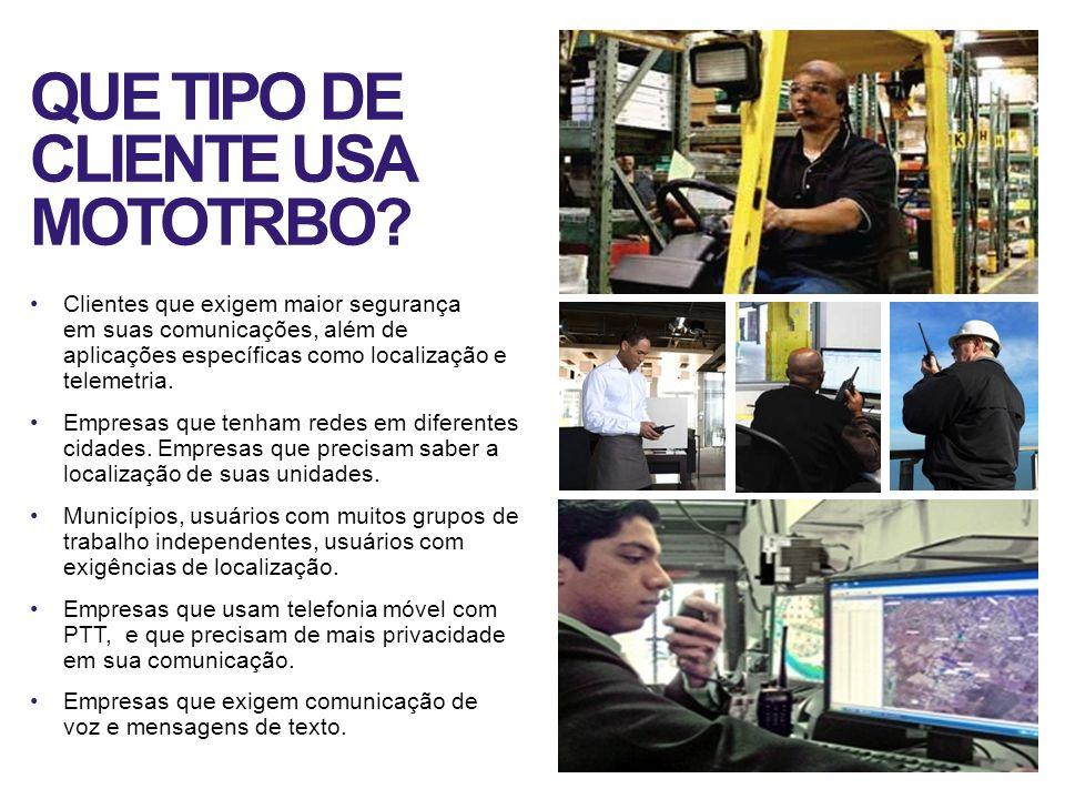 QUE TIPO DE CLIENTE USA MOTOTRBO