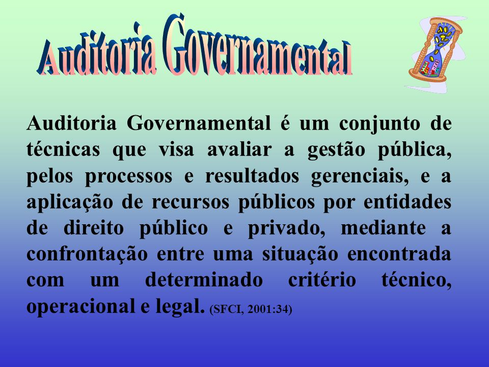 Auditoria Governamental
