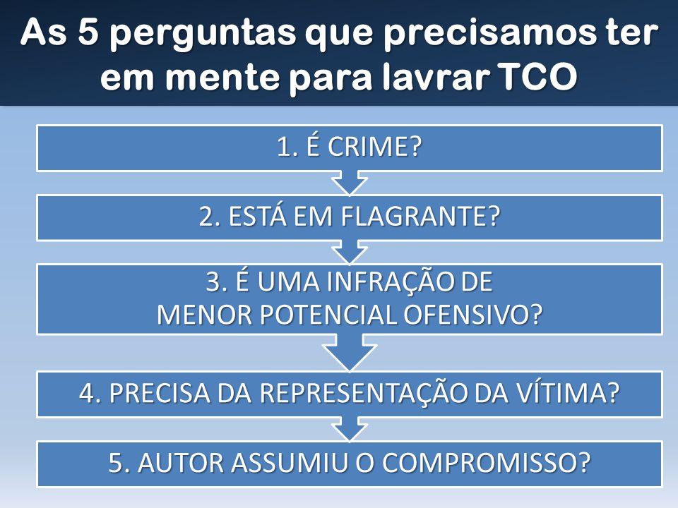 As 5 perguntas que precisamos ter em mente para lavrar TCO