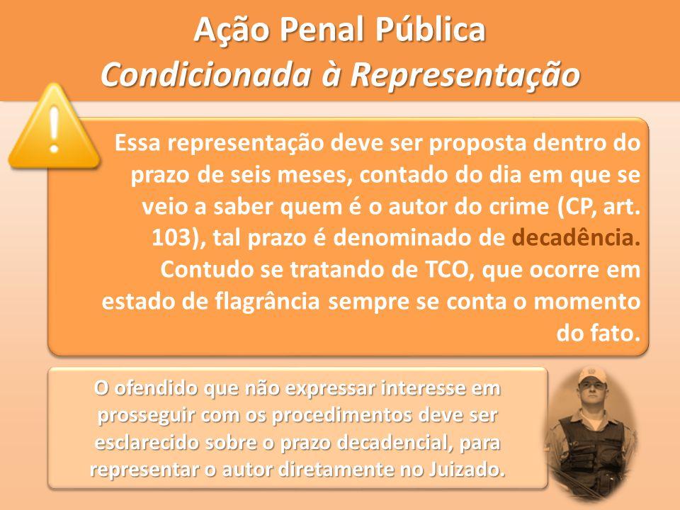 Ação Penal Pública Condicionada à Representação