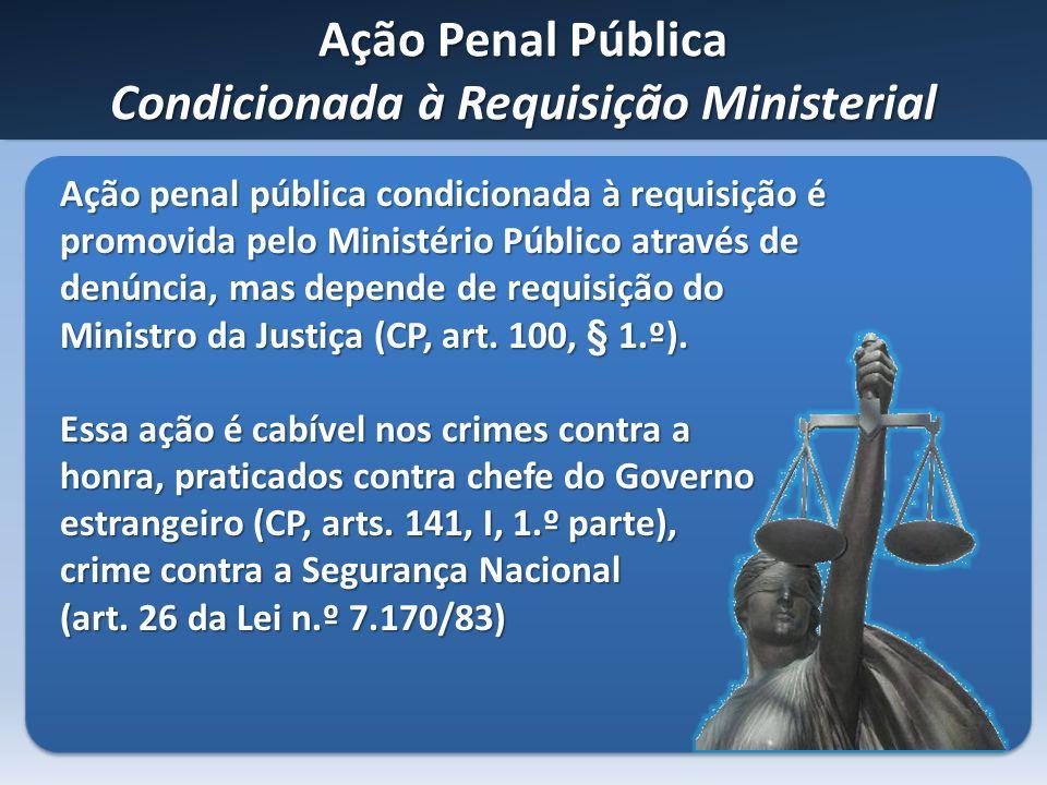 Ação Penal Pública Condicionada à Requisição Ministerial