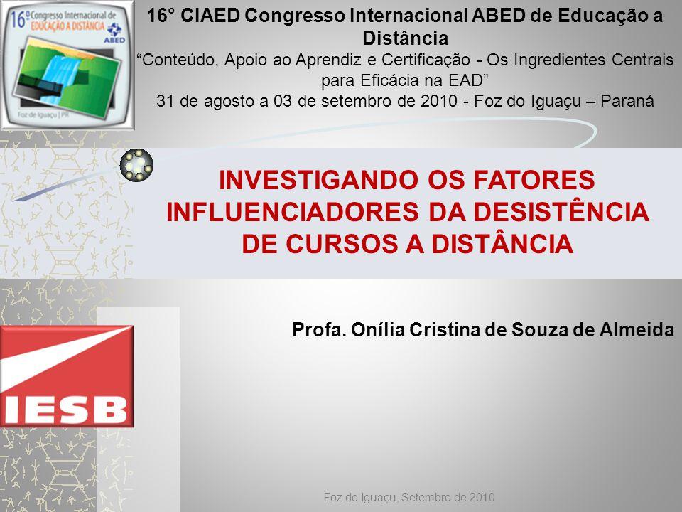 16° CIAED Congresso Internacional ABED de Educação a Distância