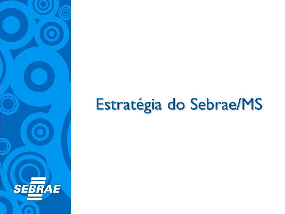 Estratégia do Sebrae/MS