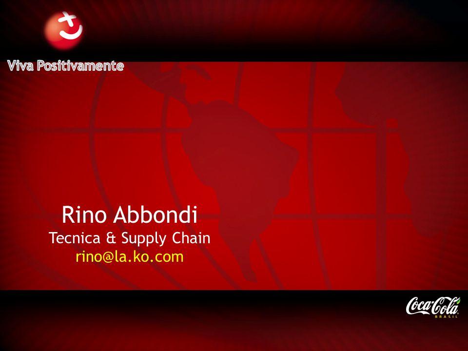 Viva Positivamente Rino Abbondi Tecnica & Supply Chain rino@la.ko.com