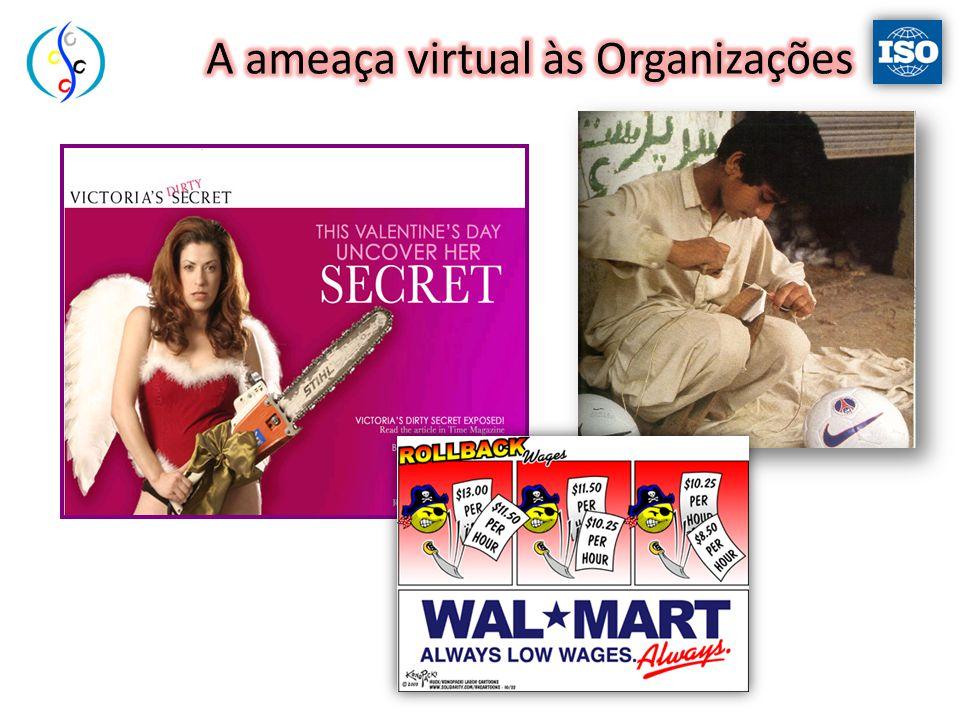A ameaça virtual às Organizações