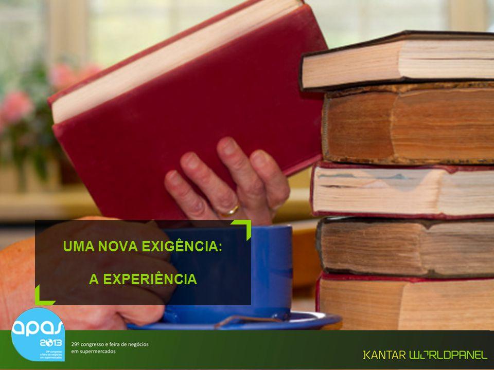 UMA NOVA EXIGÊNCIA: A EXPERIÊNCIA