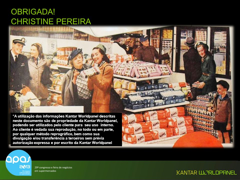 OBRIGADA! CHRISTINE PEREIRA