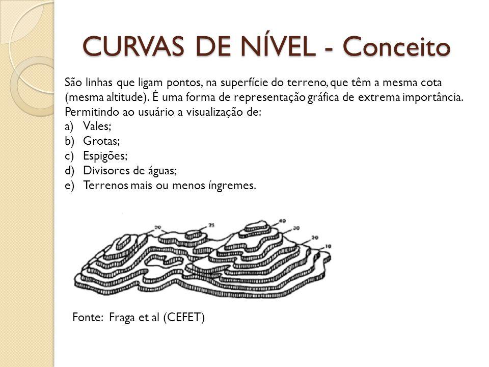 CURVAS DE NÍVEL - Conceito