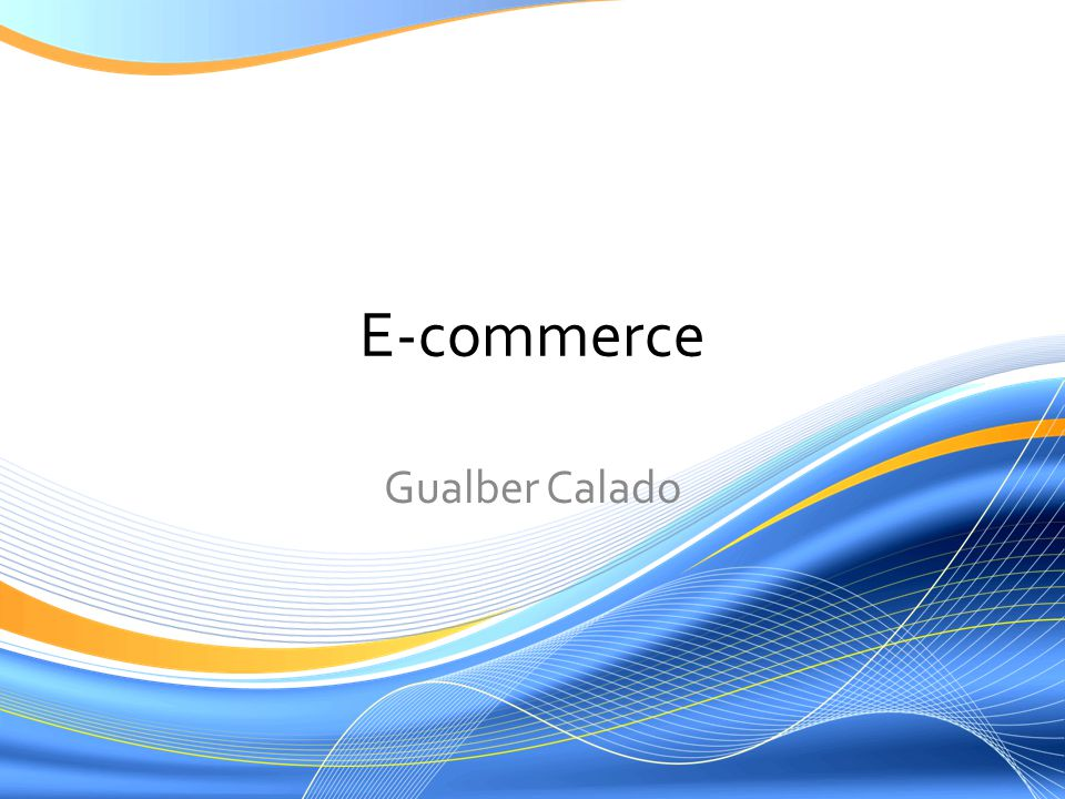 E-commerce Gualber Calado