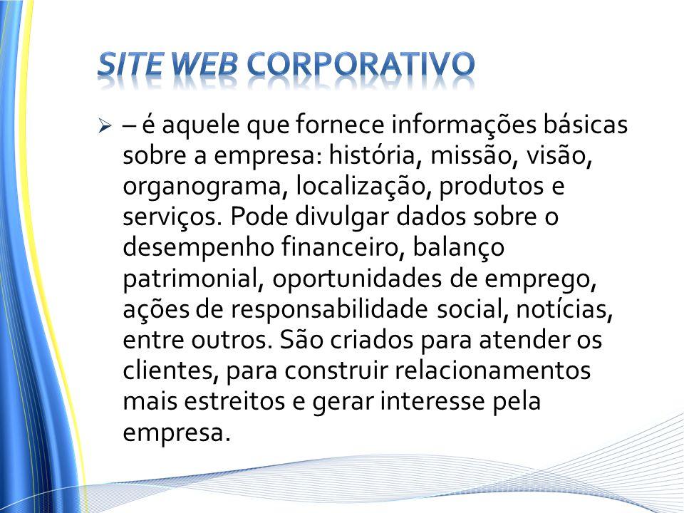Site web corporativo