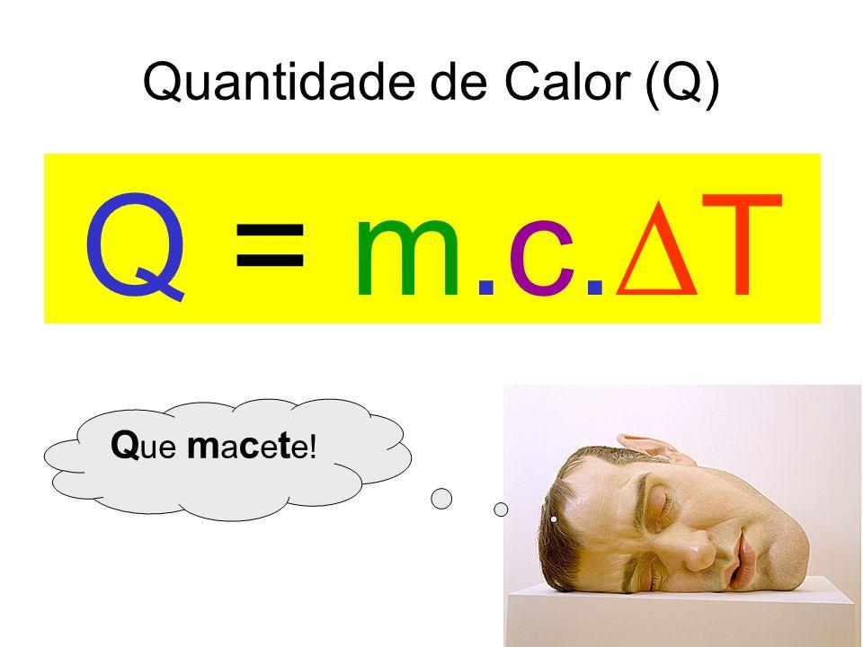 Quantidade de Calor (Q)