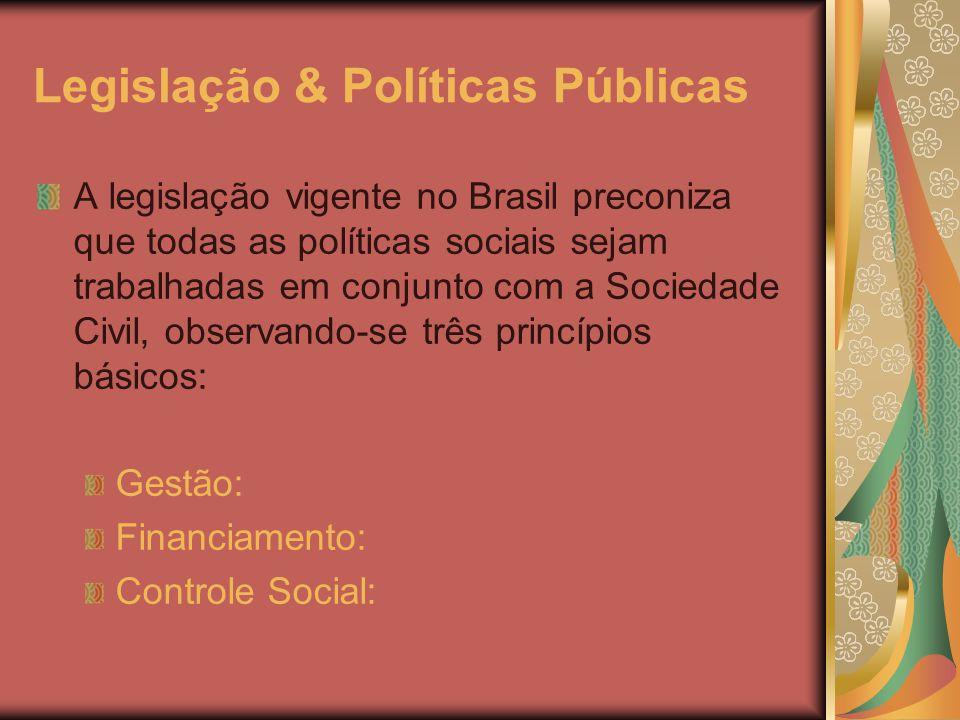 Legislação & Políticas Públicas