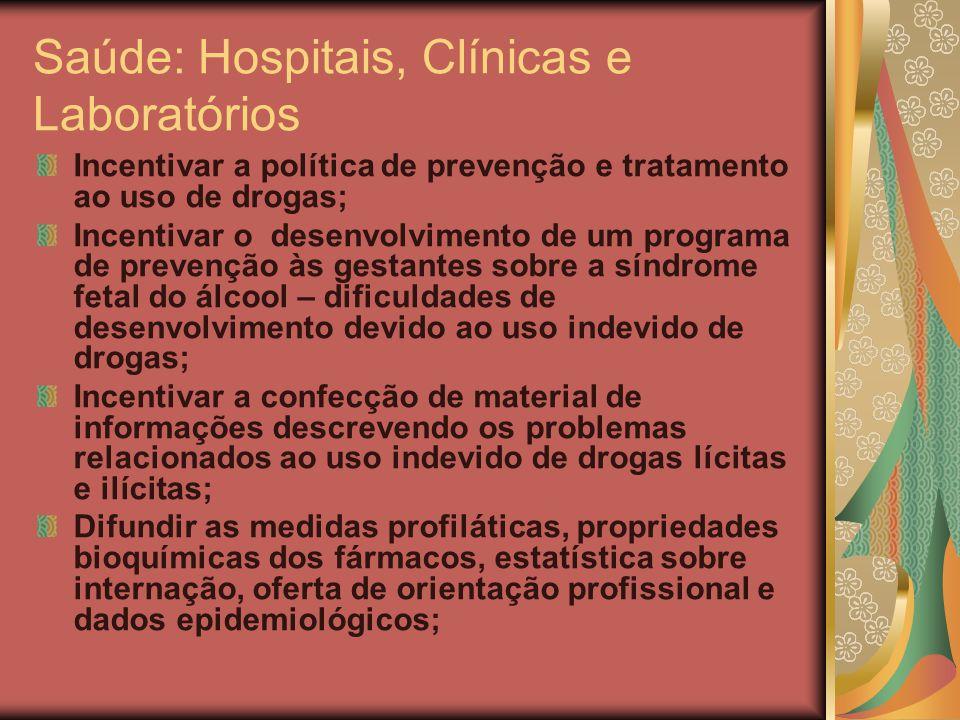 Saúde: Hospitais, Clínicas e Laboratórios