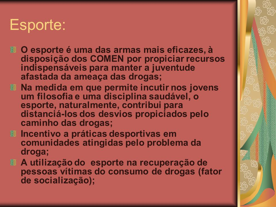 Esporte: