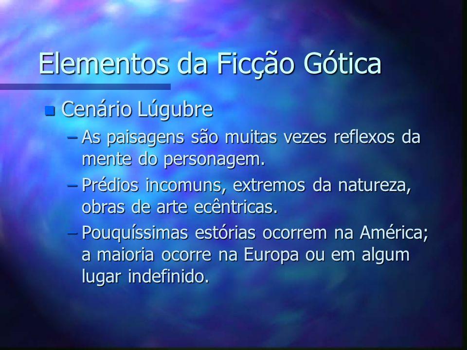 Elementos da Ficção Gótica