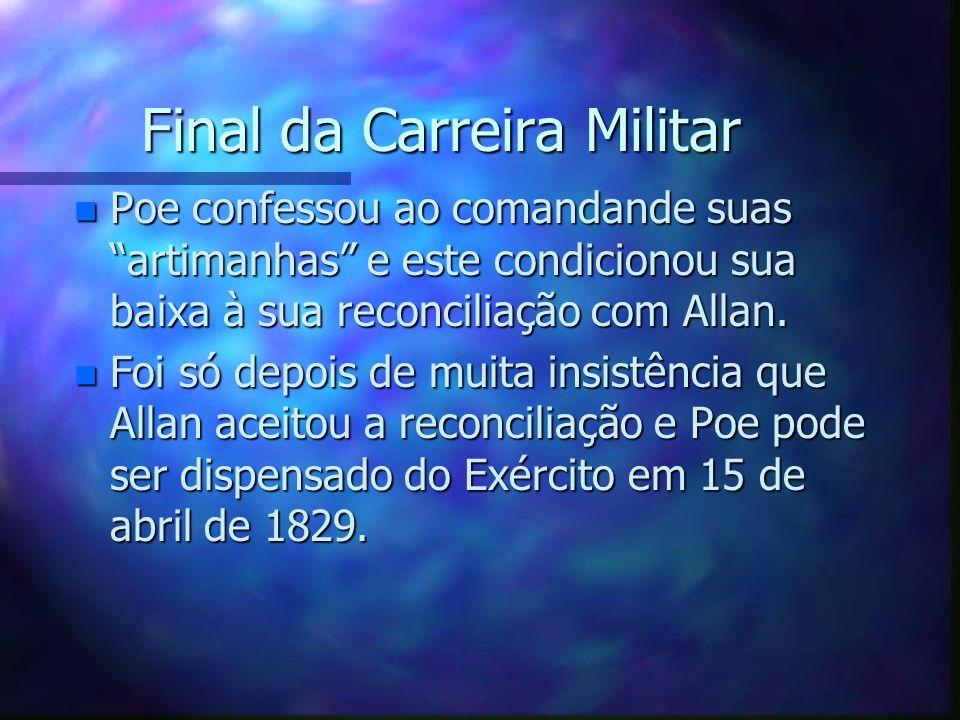Final da Carreira Militar