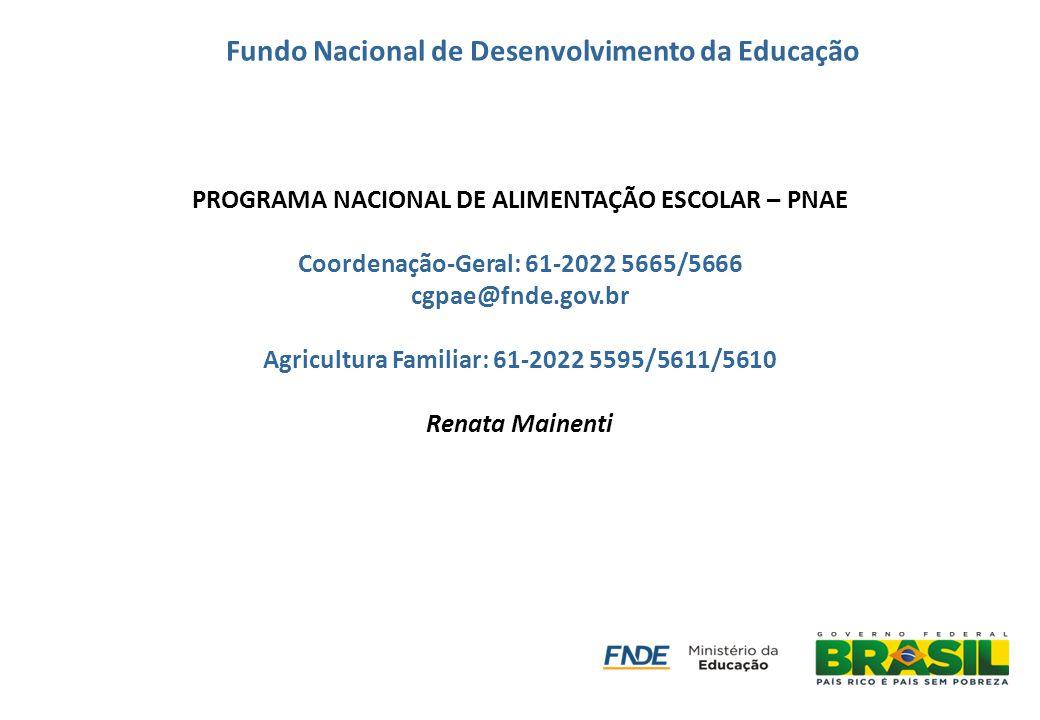 Fundo Nacional de Desenvolvimento da Educação