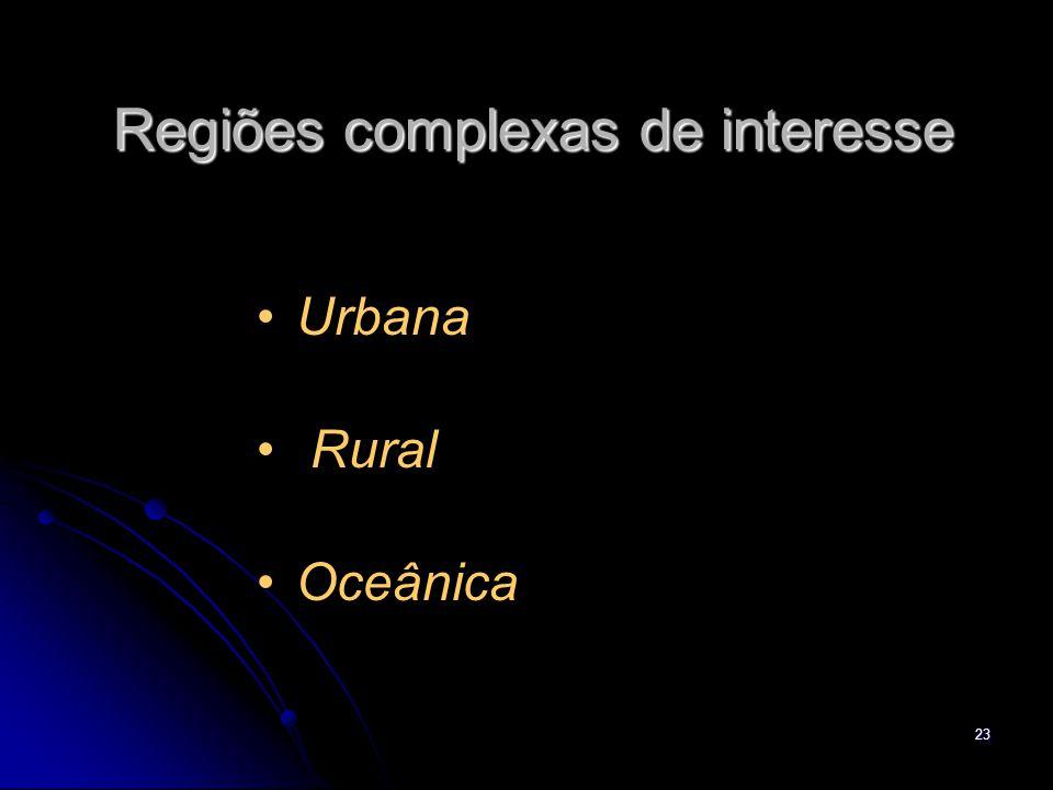 Regiões complexas de interesse